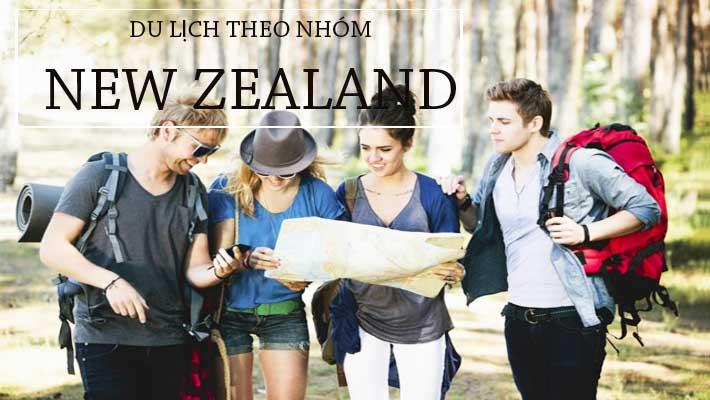 Xin Visa du lịch New Zealand theo nhóm