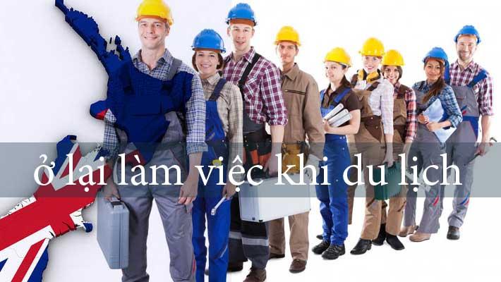 Xin Visa lao động