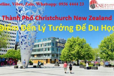 Thành Phố Christchurch New Zealand Điểm Đến Lý Tưởng Để Du Học Trung Học Phổ Thông